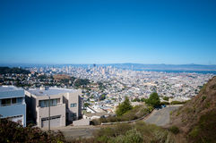San Francisco Skyline View Royalty Free Stock Photography