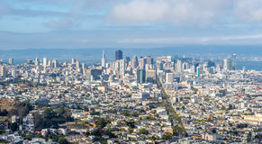 San Francisco skyline view Royalty Free Stock Images