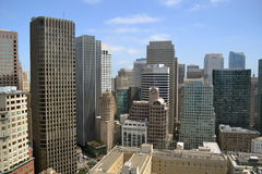 San Francisco Skyline View Royalty Free Stock Photo