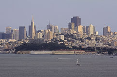 San Francisco skyline Stock Photography