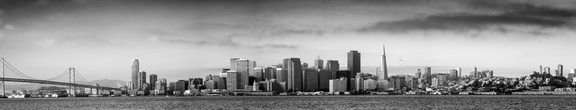San Francisco skylines Stock Photo