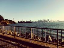 San Francisco sobre o horizonte Imagem de Stock