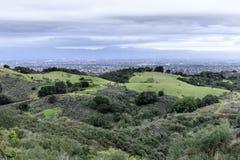 San Francisco South Bay Area Views en hiver photo libre de droits