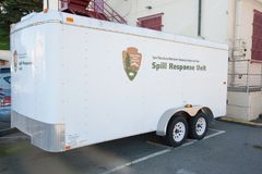 San Francisco Spill Response Unit Fotos de Stock