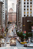 San Francisco spårvagn Royaltyfria Bilder