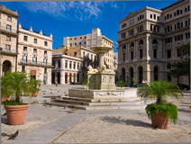 The San Francisco Square in Old Havana Royalty Free Stock Image