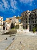 The San Francisco Square in Old Havana Stock Image