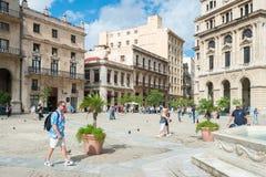 San Francisco Square in Old Havana Royalty Free Stock Image