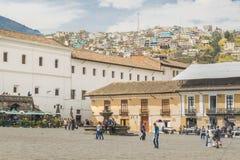 San Francisco Square Quito Ecuador Royalty Free Stock Photo