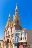 San Francisco St Peter and Paul Church at Washington Square Royalty Free Stock Images