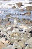 San Francisco Stack das rochas pelo Oceano Pacífico Imagens de Stock Royalty Free