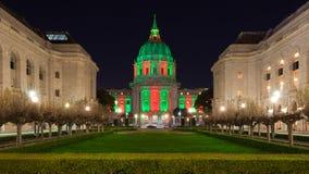 San Francisco stadshus fotografering för bildbyråer