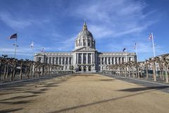 San Francisco stadshus Royaltyfri Bild