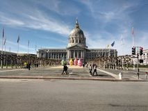 San Francisco stadshus Arkivfoto