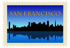 San Francisco Stamp Stock Images