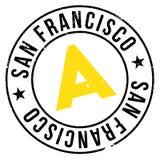 San Francisco stamp Stock Photo