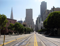San Francisco street Royalty Free Stock Photos