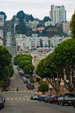San Francisco street. View Royalty Free Stock Photos