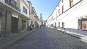San Francisco street Arequipa Peru