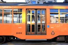 San Francisco Street Car. An antique streetcar in the Castro, San Francisco, CA Stock Image