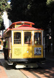 San Francisco Street Car. The famous Powell and Market streetcar in San Francisco, CA Stock Image
