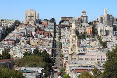 San Francisco street view Royalty Free Stock Images
