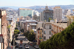 San Francisco street view Royalty Free Stock Photo