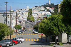San Francisco street view Stock Photography