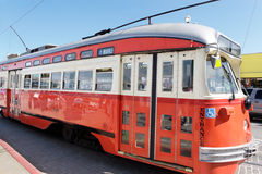 San Francisco streetcar Royalty Free Stock Photography