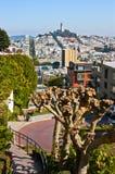 San Francisco streets Stock Photos