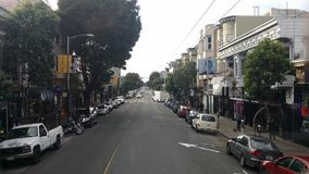 San Francisco. Streets cars morning Royalty Free Stock Images