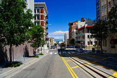 San Francisco streets Royalty Free Stock Image