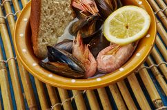 San Francisco-Style Cioppino Stock Photos