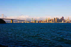 San Francisco at sunrise Royalty Free Stock Photography