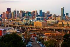 San Francisco at sunset Royalty Free Stock Image