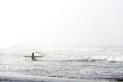 San Francisco-Surfer Stockfotografie