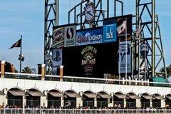San Francisco AT&T parcheggia Immagini Stock