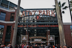 San Francisco AT&T Park Royalty Free Stock Photos