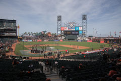 AT&T Park - San Francisco Giant Stock Photo