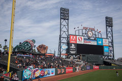 San Francisco AT&T parkerar Arkivbild