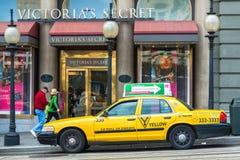 San Francisco Taxi Cab fotos de stock
