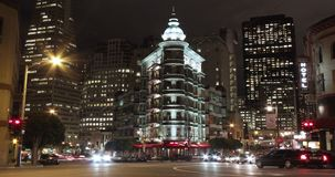 San Francisco Time Lapse Compilations stock video