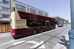 San Francisco Tour Charter Bus Imagen de archivo