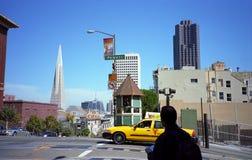 San Francisco Tourist Stock Image