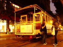 San francisco tram Stock Photos