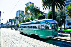San francisco tram Stock Images