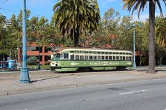 San Francisco tram Royalty Free Stock Photo