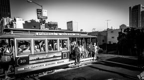 San Francisco Trams Fotografía de archivo libre de regalías