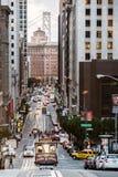 San Francisco tramwaj Obrazy Royalty Free