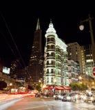 SAN FRANCISCO -Transamerica and Flatiron buildings Stock Image